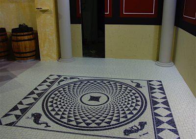 Suelo mosaico