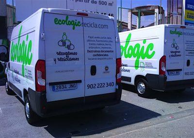 Vehículos Ecologic recicla.com