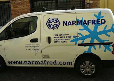 Vehículos Narmafred