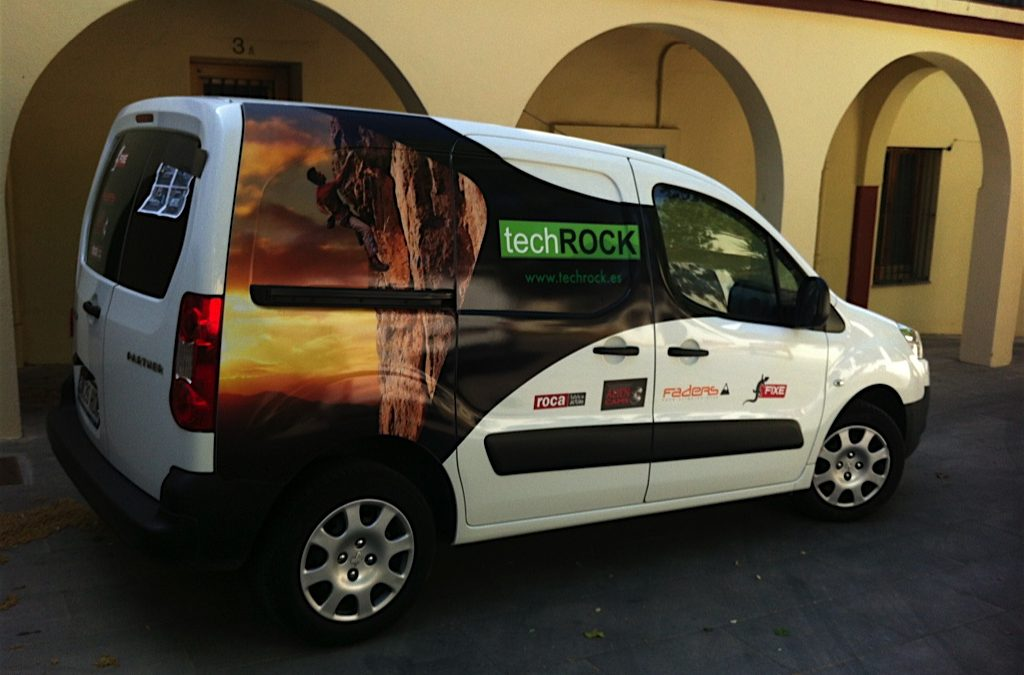 Vehículo Tech Rock